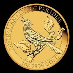 Paradicsommadár 2019 ausztrál 1 uncia arany pénzérme