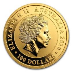 Hattyú 2018 ausztrál 1 uncia arany pénzérme