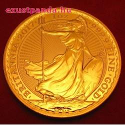 Britannia 2017 brit arany pénzérme