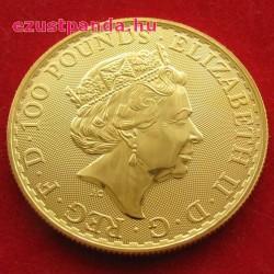 Britannia 2018 brit arany pénzérme