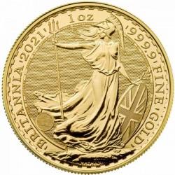 Britannia 2021 brit arany pénzérme