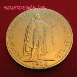 100 korona arany pénzérme, magyar változat (mai osztrák utánveret)