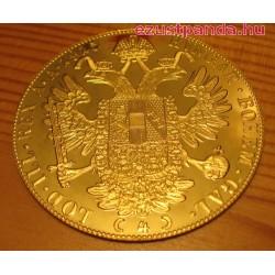 4 dukát osztrák arany pénzérme (mai utánveret)