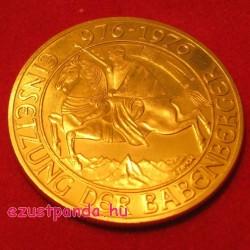 Babenberger 1976 1000 schilling arany pénzérme