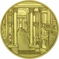 Osztrák Nemzeti Könyvtár 2001 1000 schilling proof arany pénzérme
