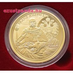 Habsburgok koronái - Osztrák császári korona 2012 100 Euro proof arany pénzérme