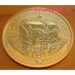 Habsburgok koronái - Főhercegi korona 2009 100 Euro proof arany pénzérme