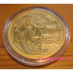 Habsburgok koronái - Német-római birodalmi korona 2008 100 Euro proof arany pénzérme