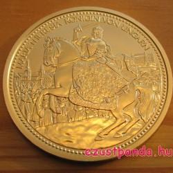Habsburgok koronái - Szt. István koronája 2010 100 Euro proof arany pénzérme