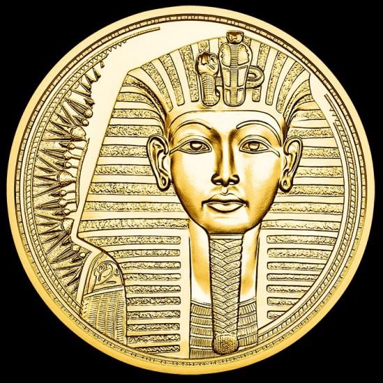 Az arany varázslata - A fáraók aranya 2020 100 Euro proof arany pénzérme