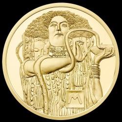 Klimt 2015 Orvostudomány (Medizin) 50 Euro proof arany pénzérme