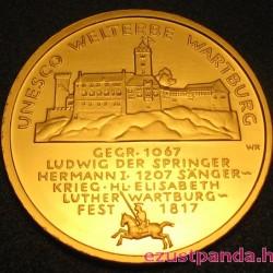 Wartburg 2011 100 Euro német arany pénzérme