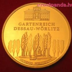 Dessau-Wörlitz 2013 100 Euro német arany pénzérme