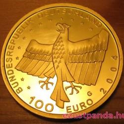 Bamberg 2004 100 Euro német arany pénzérme