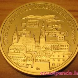 Weimar 2006 100 Euro német arany pénzérme