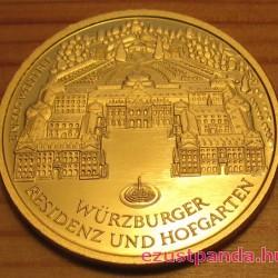 Würzburg 2010 100 Euro német arany pénzérme