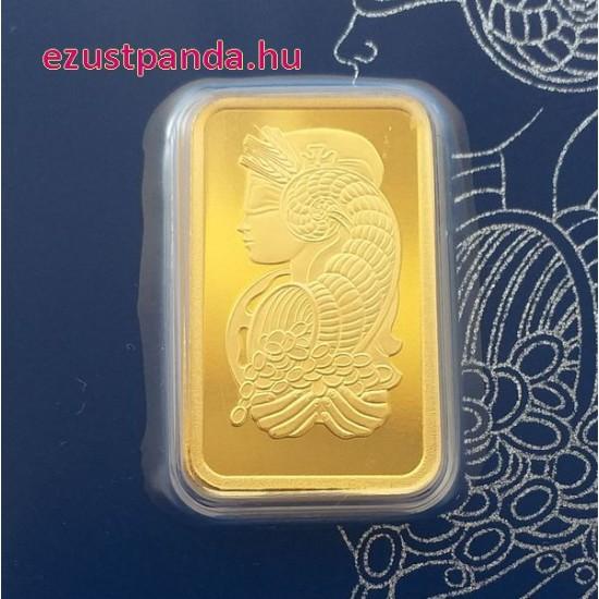 Aranyrúd 10g svájci PAMP Fortuna (Svájc)