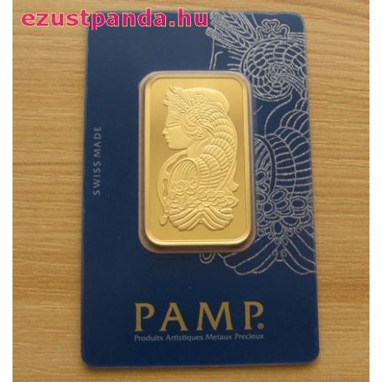 Aranyrúd 1 uncia svájci PAMP Fortuna