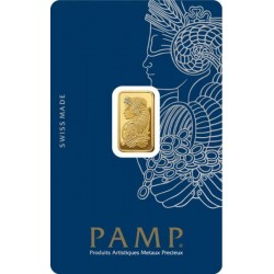 Aranyrúd 2,5g svájci PAMP Fortuna (Svájc)
