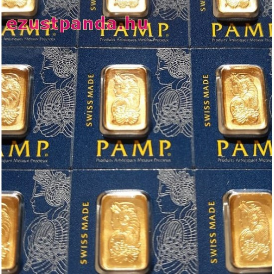Aranyrúd 25x1gramm svájci PAMP Fortuna Multigram