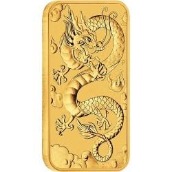 Aranyrúd Sárkány 2019 1 uncia ausztrál Perth Mint