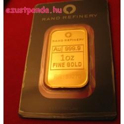 Aranyrúd 1 uncia Rand Refinery (Dél-Afrika)