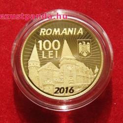 Hunyadi János erdélyi fejedelem 2016 arany pénzérme - csak 250 példány!