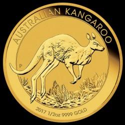 Kenguru 2017 1/2 uncia arany pénzérme