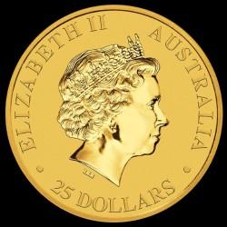 Kenguru 2017 1/4 uncia arany pénzérme