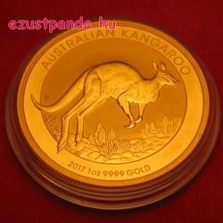 Kenguru 2017 1 uncia arany pénzérme