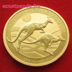 Kenguru 2018 1 uncia arany pénzérme