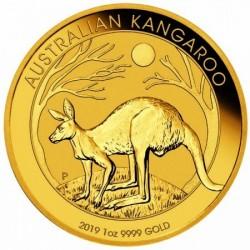 Kenguru 2019 1 uncia arany pénzérme
