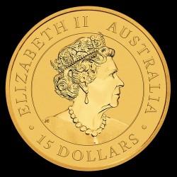 Kenguru 2020 1/10 uncia arany pénzérme