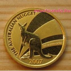 Kenguru 2007 1/20 uncia arany pénzérme