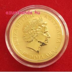 Kenguru 2016 1/2 uncia arany pénzérme
