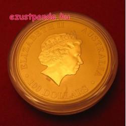 Kenguru 2016 1 uncia arany pénzérme