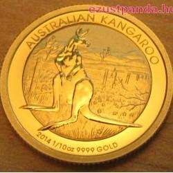 Kenguru 2014 1 uncia arany pénzérme