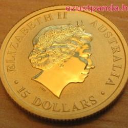 Kenguru 2014 1/10 uncia arany pénzérme