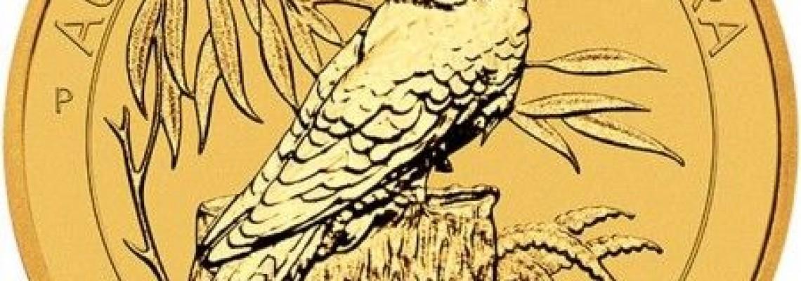 Jubileumi arany Kookaburra!