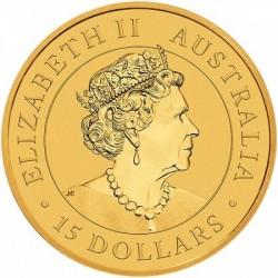 Kookaburra 2020 1/10 uncia jubileumi arany pénzérme