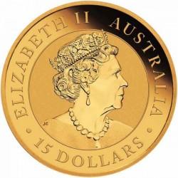 Kookaburra 2021 1/10 uncia arany pénzérme
