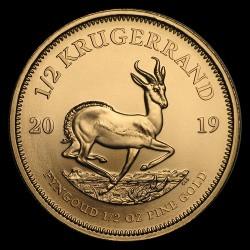 Krugerrand 2019 1/2 uncia arany pénzérme