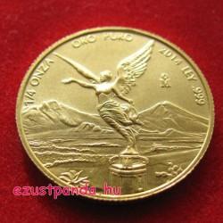 Libertad 2014 mexikói 1/4 uncia arany pénzérme