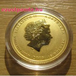 Lunar2 Disznó éve 2019 1/10 uncia arany pénzérme