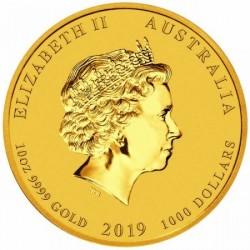Lunar2 Disznó éve 2019 10 uncia arany pénzérme