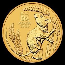 Lunar3 Egér éve 2020 1 uncia arany pénzérme
