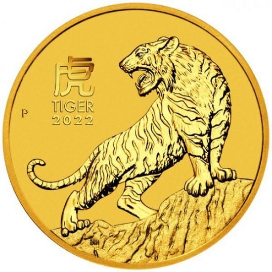 Lunar3 Tigris éve 2022 1 uncia arany pénzérme