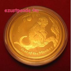 Lunar2 Majom éve 2016 1 uncia arany pénzérme