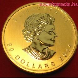 Maple Leaf 2020 1/4 uncia kanadai arany pénzérme