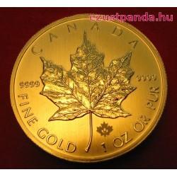 Maple Leaf 2019 1/2 uncia kanadai arany pénzérme